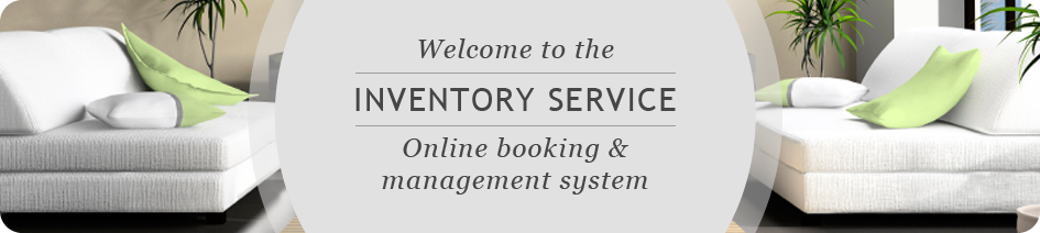 Welcome to the Inventory Service. Online booking & management system